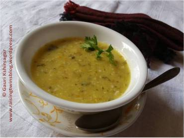 Rice Dal Khichdi