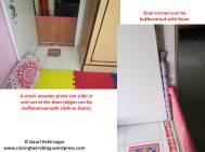 Baby proofing: Door gate