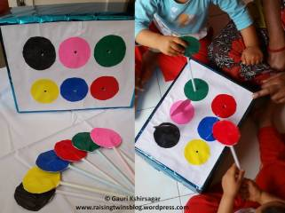 DIY Activity: Colored BOX with straws