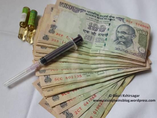 Cost of Vaccination/ Immunization in India