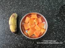 Including fruits like papaya and banana reduces the chances of constipation in infants and toddlers