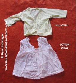 Baby Clothes: Pull over and cotton dress