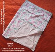 Baby Clothes: Cotton Wrap