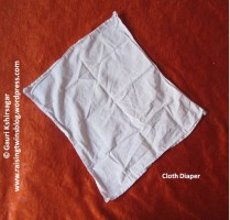 Baby Clothes: Cloth Diaper with inserter