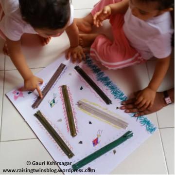 DIY Activity 2: Zipper Board