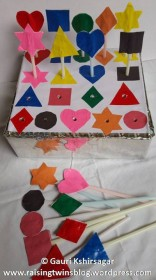 Color and shapes box