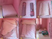 How to make a diaper changing station