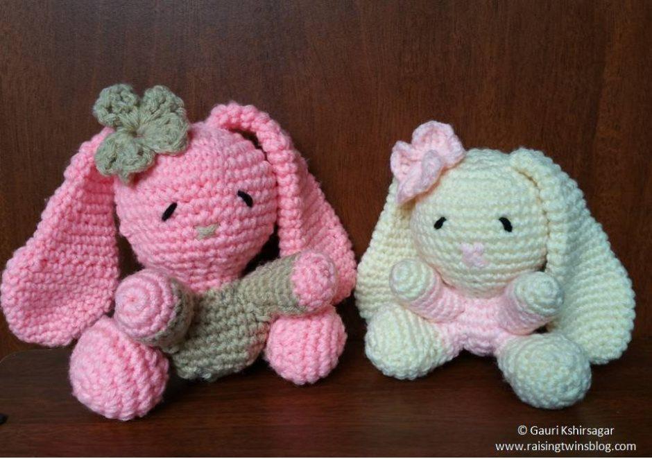 HappyBerry Crochet Amigurumi Bunny Pattern Review - YouTube | 662x940